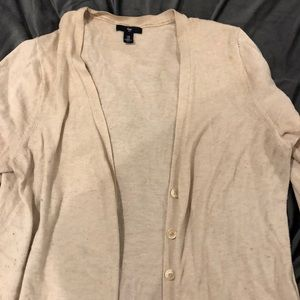 Oatmeal Cardigan Sweater